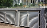 Alloy louver gates