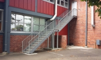 Structural stairs