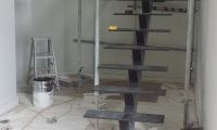 Structural steel stairs 2