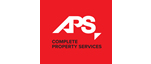 APS services logo on red